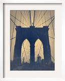 Brooklyn Bridge Prints by  NaxArt