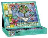 Happiness Blooms 500 Piece Jigsaw Puzzle Jigsaw Puzzle