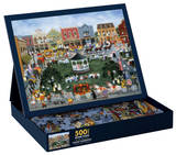 Village Celebration 500 Piece Jigsaw Puzzle Puzzle