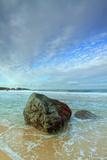 Morning Seascape at Garrapata Beach Reproduction photographique par Vincent James