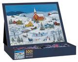 Snowy Evening 500 Piece Jigsaw Puzzle Jigsaw Puzzle
