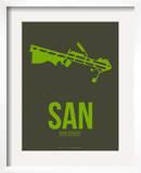 San San Diego Poster 2 アート : NaxArt(ナックスアート)