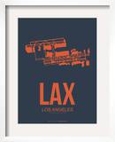 Lax Los Angeles Poster 3 Print by NaxArt 