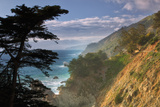 Big Sur Coastline in the Afternoon Fotografie-Druck von Vincent James