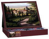Vineyards Of Tuscany 500 Piece Jigsaw Puzzle Jigsaw Puzzle
