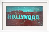 Hollywood Sign Poster by  NaxArt
