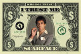Scarface - Dollar Póster