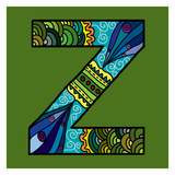 Letter Z Prints by Emi Takahashi