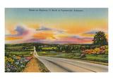 Highway 71, Fayetteville, Arkansas Prints