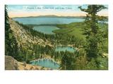 Angora Lakes, Lake Tahoe Affiches