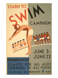 Learn to Swim Poster Art