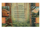 Kilmer Tree Poem, Forest Prints