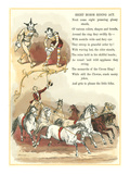Circus Visit, Riding Eight Horses Poster