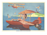 Boeing Model 204 Flying Boat Art