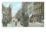 Sauchiehall Street, Glasgow, Scotland Poster