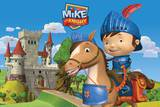 Mike the Knight-Mike and Galahad Prints