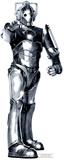 Cyberman Silhouettes découpées grandeur nature