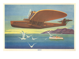 Dornier Do-X Flying Boat Print