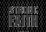 Strong Faith Laptop Skin Sticker Laptop Stickers