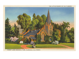 Little Church of the Flowers, Forest Lawn Posters