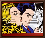In the Car, c.1963 Affiche par Roy Lichtenstein