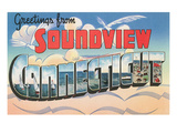 Greetings from Soundview, Connecticut Prints