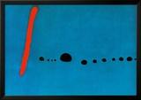Blau II Kunstdrucke von Joan Miró