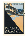Poster for Imperial Airways Plakat