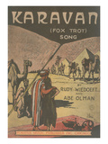 Sheet Music for Karavan Fox Trot Posters