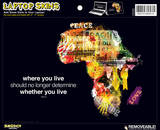 Africa ( Bono Quote) Laptop Skin Sticker Laptop Stickers
