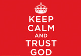 Keep Calm And Trust God Laptop Skin Sticker Laptop Stickers