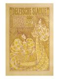 Delftsche Slaolie Poster, Two Women Posters