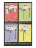 Four Sinks Print