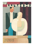 Art Deco Playgoer Magazine Cover Prints