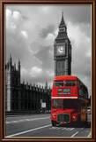 Rød London-bus Posters