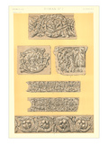 Roman Bas Relief Borders Posters