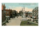 Downtown, New London, Connecticut Prints