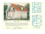 Single-Family Home, Rendering and Floor Plans Photo