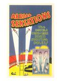 Aerial Sensations, Circus Advertisement Prints
