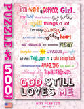Perfect Girl 500 Piece Puzzle Jigsaw Puzzle