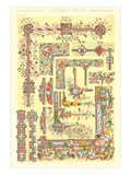 Illuminated Manuscript Motifs Print