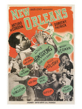 Poster for New Orleans Jazz Affiches