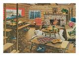Western Living Room Prints