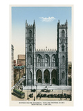 Notre Dame Church, Montreal, Canada Prints