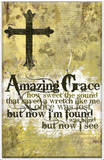 Amazing Grace Plaque Wood Sign