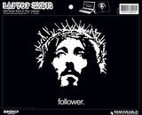 Jesus Follower Laptop Skin Sticker Laptop Stickers