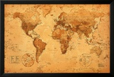 World Map Print