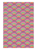 Rainbow Scales Pattern Posters