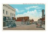 Main Street, Van Buren, Arkansas Prints