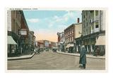 Main Street, Norwalk, Connecticut Prints